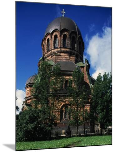 Russian-Orthodox Voskresensky Cathedral--Mounted Giclee Print