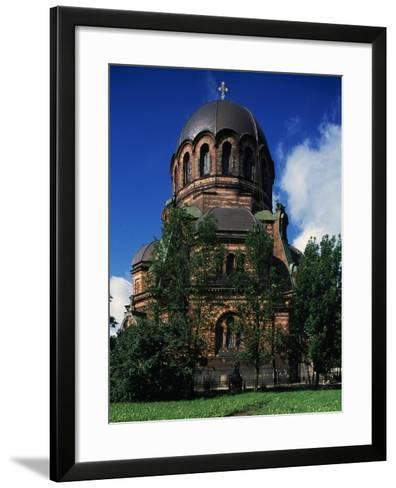 Russian-Orthodox Voskresensky Cathedral--Framed Art Print