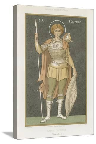Saint George--Stretched Canvas Print