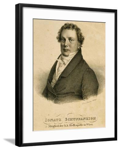 Ignaz Schuppanzigh--Framed Art Print