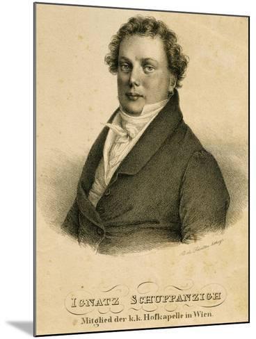 Ignaz Schuppanzigh--Mounted Giclee Print