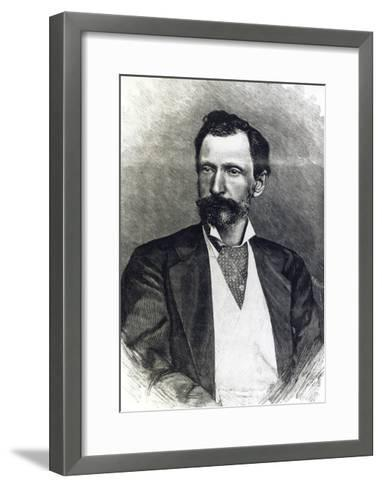 Portrait of Giuseppe Zanardelli--Framed Art Print