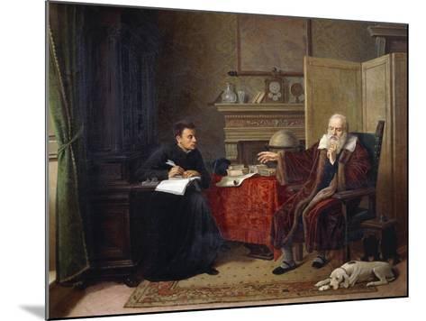 Galileo Galilei--Mounted Giclee Print