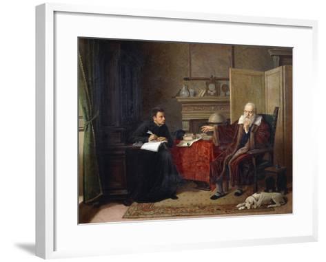 Galileo Galilei--Framed Art Print