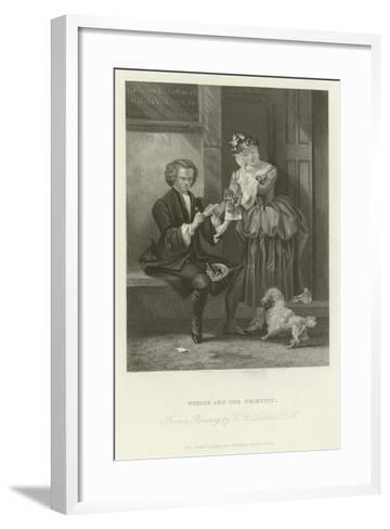 Yorick and the Grisette-Charles Robert Leslie-Framed Art Print
