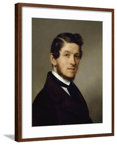 Self-Portrait by Francesco Ferrari--Framed Art Print