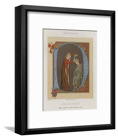 David, the Anointed of the Lord--Framed Art Print