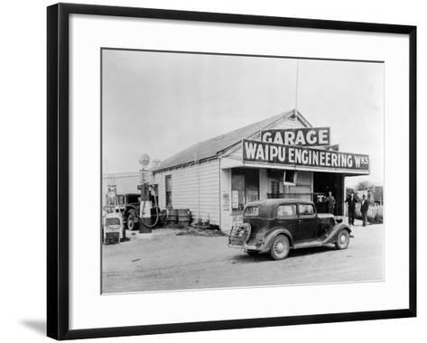 Waipu Engineering and Garage--Framed Art Print