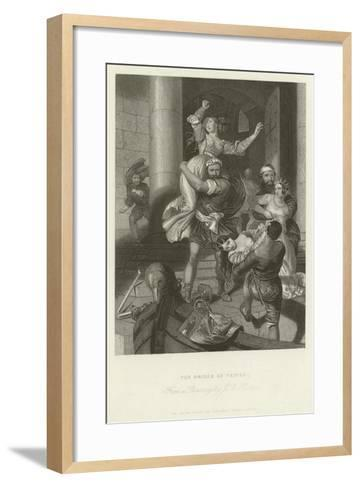 The Brides of Venice-John Rogers Herbert-Framed Art Print