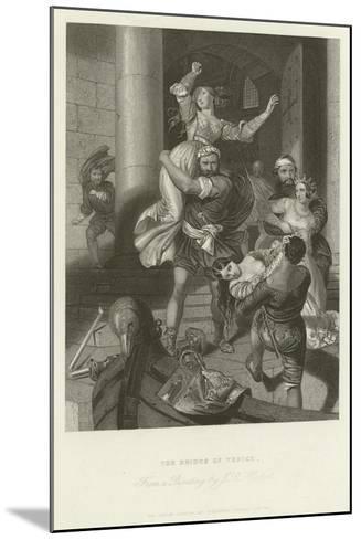 The Brides of Venice-John Rogers Herbert-Mounted Giclee Print
