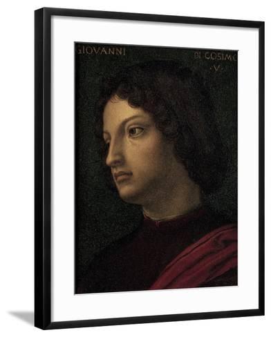 Portrait of Giovanni De Medici--Framed Art Print