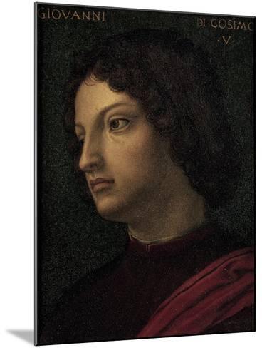 Portrait of Giovanni De Medici--Mounted Giclee Print
