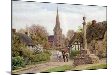 Childs Wickham, Near Evesham, Worcester-Alfred Robert Quinton-Mounted Giclee Print