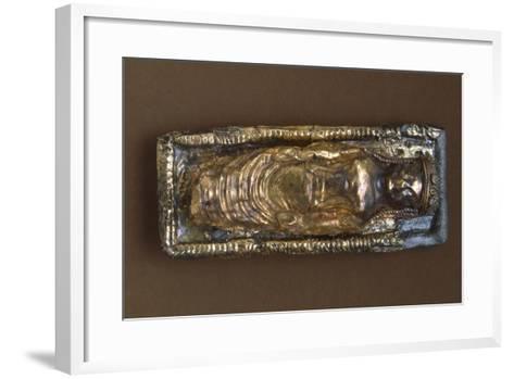 Gold Plate, from Preneste--Framed Art Print