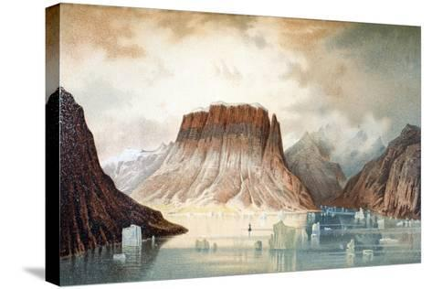 The Teufelschloss Mountain--Stretched Canvas Print