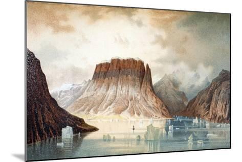 The Teufelschloss Mountain--Mounted Giclee Print