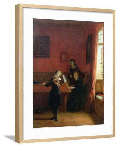 The Solo, 1874-Frederick Daniel Hardy-Framed Art Print