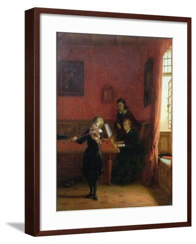 The Solo, 1874-Frederick Daniel Hardy-Framed Art Print