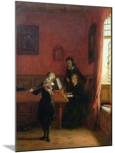 The Solo, 1874-Frederick Daniel Hardy-Mounted Giclee Print