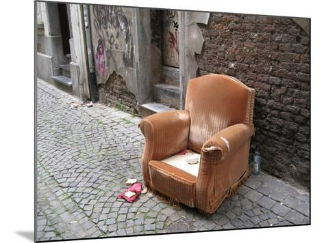 Abandoned Chair--Mounted Photographic Print