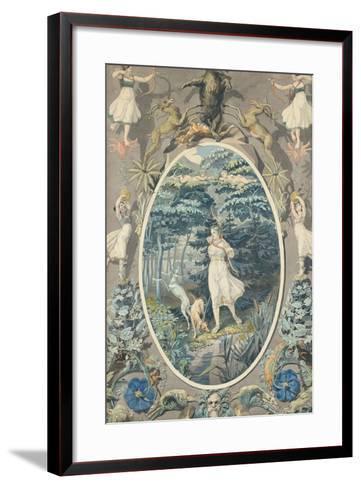 The Joy of Hunting, 1808-9-Philipp Otto Runge-Framed Art Print