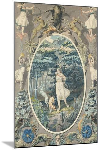 The Joy of Hunting, 1808-9-Philipp Otto Runge-Mounted Giclee Print
