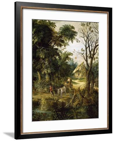 Landscape with Peasants-Kerinex Alexander-Framed Art Print