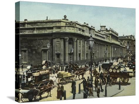 The Bank of England--Stretched Canvas Print