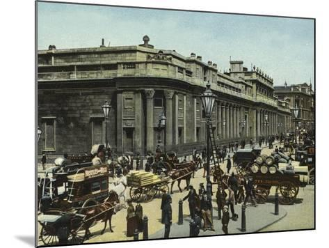 The Bank of England--Mounted Photographic Print