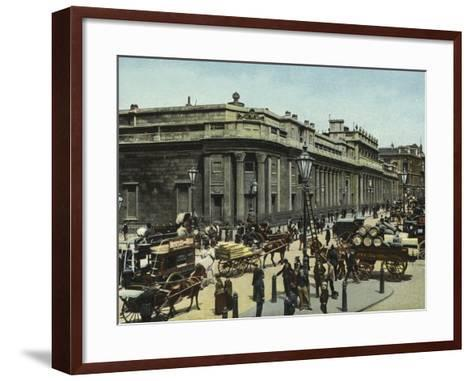 The Bank of England--Framed Art Print