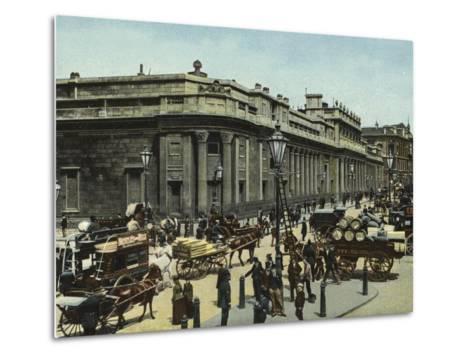 The Bank of England--Metal Print