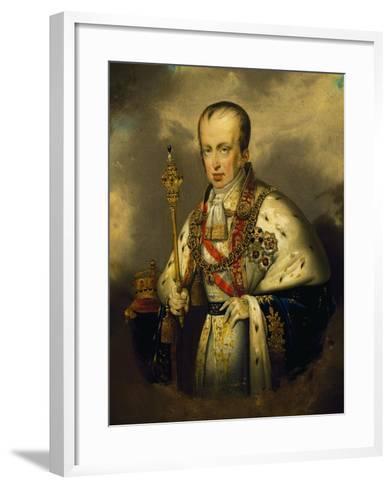Portrait of Ferdinand I of Austria--Framed Art Print