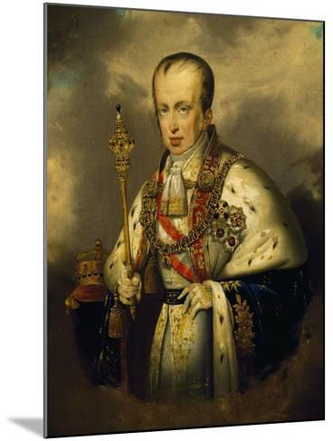 Portrait of Ferdinand I of Austria--Mounted Giclee Print