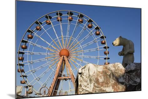 Big Wheel, Cogolin, Var, France--Mounted Photographic Print