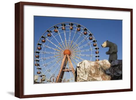 Big Wheel, Cogolin, Var, France--Framed Art Print