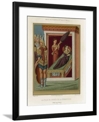 The Daughter of the Prince of the Synagogue--Framed Art Print