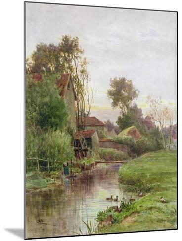 The Mill Stream-James George Bingley-Mounted Giclee Print
