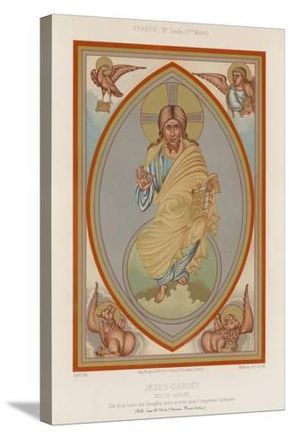 A 9th-Century Depiction of Jesus Christ--Stretched Canvas Print