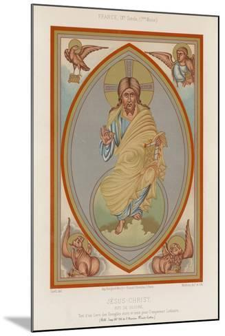 A 9th-Century Depiction of Jesus Christ--Mounted Giclee Print