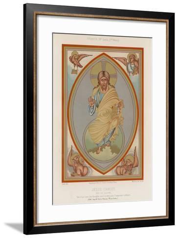 A 9th-Century Depiction of Jesus Christ--Framed Art Print