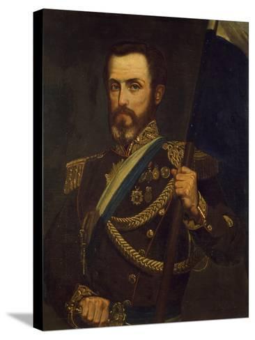 Portrait of General Juan Lavalle Argentina--Stretched Canvas Print