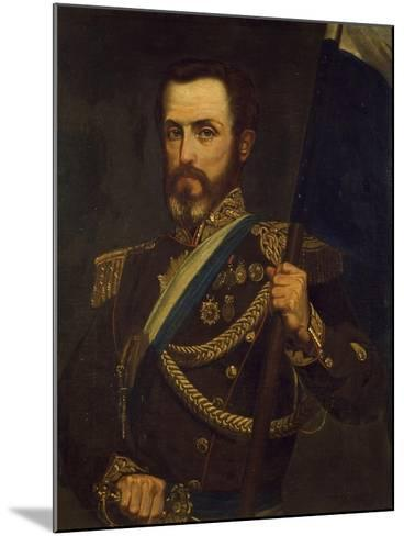 Portrait of General Juan Lavalle Argentina--Mounted Giclee Print