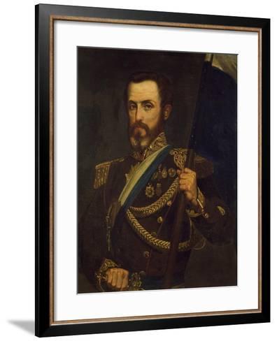 Portrait of General Juan Lavalle Argentina--Framed Art Print