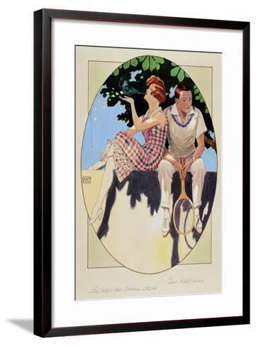 The Love Letters, the Times of Short Hair--Framed Art Print