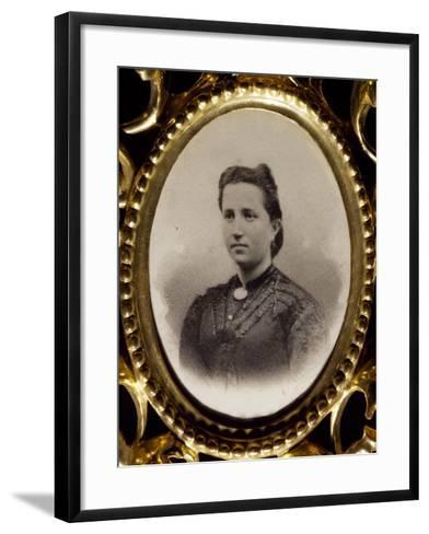 Felicia Grillo, Mother of Francesco Cilea--Framed Art Print