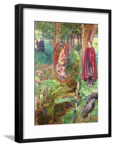 Time and Chance Happeneth to All Alike, 1901-John Byam Liston Shaw-Framed Art Print