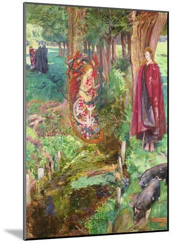 Time and Chance Happeneth to All Alike, 1901-John Byam Liston Shaw-Mounted Giclee Print