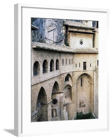 View of St Benedict's Cave--Framed Art Print