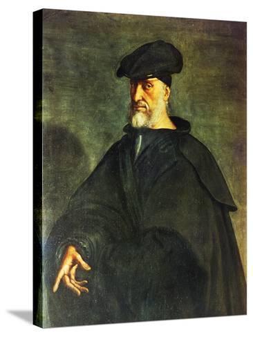 Portrait of Andrea Doria--Stretched Canvas Print