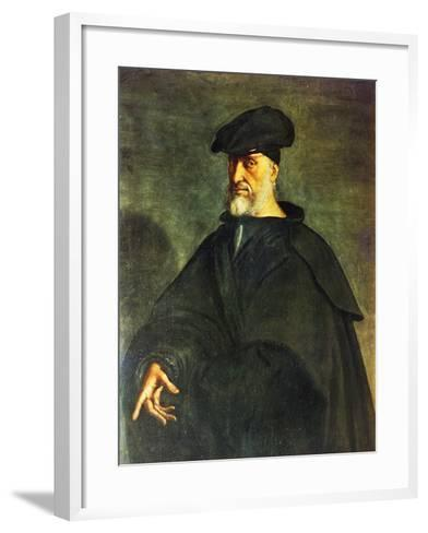 Portrait of Andrea Doria--Framed Art Print